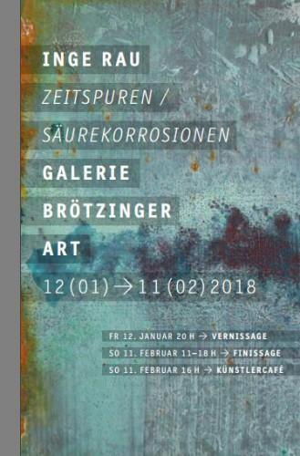 Einladung Galerie Brötzinger Art