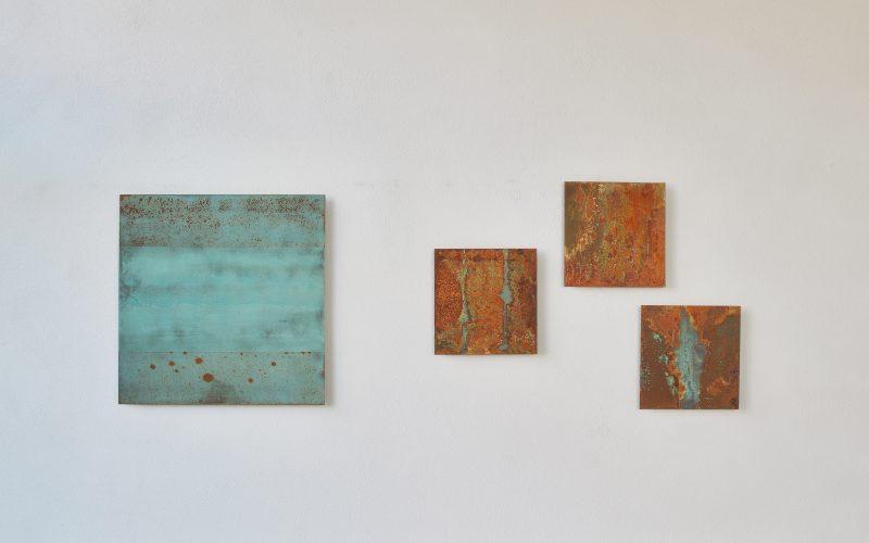 """Ausstellung """"Zeitspuren"""" 2016, Galerie Obermrchtal"""