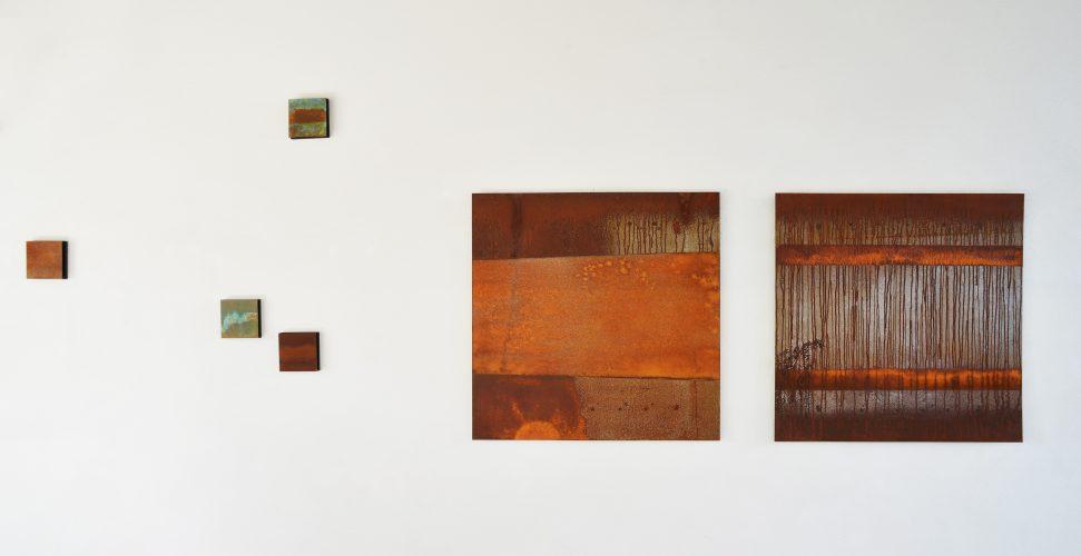 """Ausstellung """"Zeitspuren"""" 2016, Galerie Obermarchtal"""